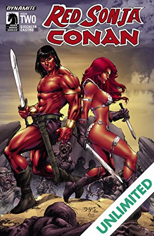 Red Sonja/Conan #2 (of 4): Digital Exclusive Edition